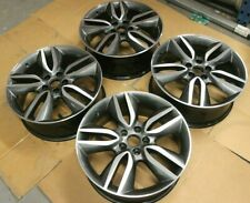 """Set 4 Originale Hyundai Santa Fe 19 """" Cerchi in Lega OEM Grigio"""