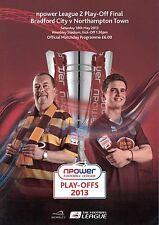 Bradford City v Northampton Town - League 2 Play-Off Final 18/05/13