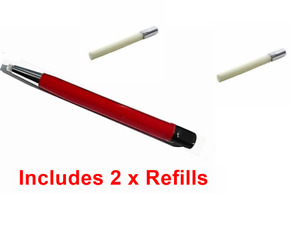Fibre Pen Pencil + 2 Refill's  Abrasive Cleaning Fibreglass  Electronics PCB Etc