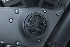 Kuryakyn Mesh Timing Cover in Satin Black for Harley Sportster 04-17