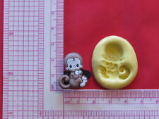 Baby Monkey Silicone Mold A913 Candy Chocolate Fondant Miniature Baby Shower