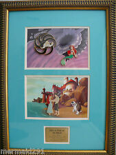 LIMITED EDITION OF 25 ARIEL THE LITTLE MERMAID FRAMED PIN SET THIS IS LOVE EVENT