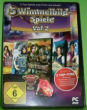 5 Wimmelbild-Spiele Vol. 2 - Tempel der Tiefsee 2, Relikte des Sc.. (PC - Spiel)