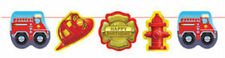 Firefighter Fire Man Party 12' Printed Garland Banner - Birthday Party Supplies