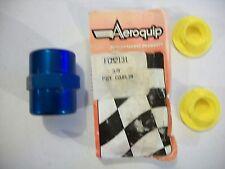 "Aeroquip FCM2131 Female 3/8"" NPT to Female 3/8"" NPT Blue Couplers AEROQUIP"