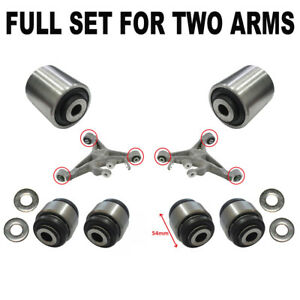 Kit silentblocs des bras inférieur arrière pour Jaguar S TYPE / XJ X350