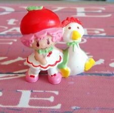 Figurines PVC Charlotte aux fraises Strawberry shortcake AGC no 3 vintage 1982