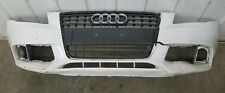 2009 2010 2011 2012 AUDI A4 B8 Front Bumper Cover with Grille OEM 8K0807437