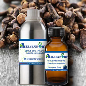 PURE CLOVE BUD SPICE OIL Eugenia caryophyllat NATURAL AYURVEDA HERBAL FRAGRANCE