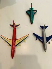 Kids Toy Airplane Lot Diecast Lot Of 3 Total Toys!
