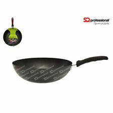 28cm Non Stick Wok Saucepan Pot Fry Stir Frying Pan Cookware Cooking UK