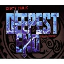 GOV'T MULE - DEEPEST END 2 CD + DVD NEW!