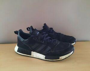 Mens Adidas Boston Super Core Black Trainers Size UK 10