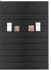 N°628 - Hanovre ( Etat allemand ) ( 1859-64 ) - 2 timbres oblitérés