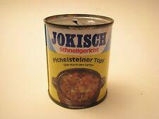 Blechdose, Spardose, Jokisch Schnellgericht 1970er Werbefigur