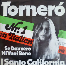 "7"" 1975 KULT! I SANTO CALIFORNIA : Tornero // MINT-? \"