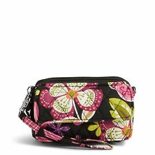 Vera Bradley All in One Crossbody Bag & Wristlet in Pirouette Pink