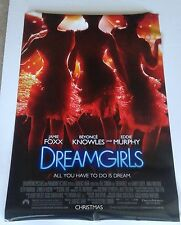 """DREAMGIRLS double sided movie poster 27""""x 40"""" (Foxx, Knowles, & Murphy)"""