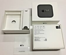 Box For Apple TV|32GB|4th Generation|A1625|MR912LL/A|Box with Manual Only|White