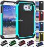 Hybrid Rugged Rubber Hard Defender Shockproof Case Cover For Samsung Galaxy S9