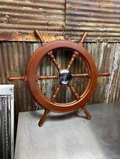 Nice Boat Steering Wheel Old New Stock