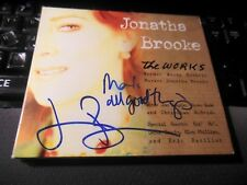 The Works  by Jonatha Brooke (CD 2008, Bad Dog) SIGNED! AUTOGRAPHED! folk