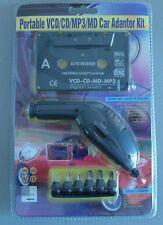 Adaptador de CD/MP3 + cargador convertidor universal para coche 12V (1,5 a 12V)