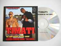 TIMATI : GET YOUR GROOVE ON feat. SNOOP [ CD SINGLE ] ~ PORT GRATUIT