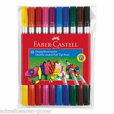 Serie 10 Estuche Artista de fibra doble Faber-Castell 151110 pintor fino grueso