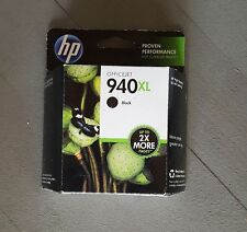 NEW HP Officejet 940XL Black Ink Cartridge C4906AN Option 140 unopened