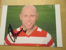 James O Connor Doncaster rovers signed Football Photo  /bi