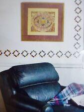 STENCIL EASE ✿ Dekor Madison Squares Wand Bordüren Schablonen Malen Painting NEU