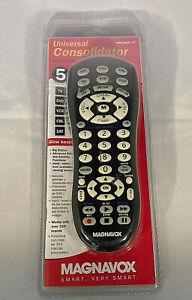 Magnavox Universal Consolidator Remote 5 devices TV DVD VCR CBL SAT  MRU3500/17
