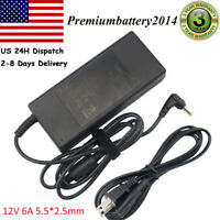 For Samsung NP365E5C 72W 12V 6A Laptop AC Adapter Charger Power Supply Cord