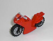 LEGO City - Renn Motorrad in ROT - Motorbike Motorcycle Racing Bike Kai 10739