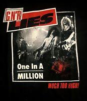 GUNS N' ROSES cd lgo Lies ONE IN A MILLION Official SHIRT MED New axl slash duff
