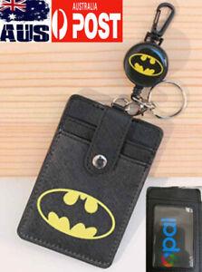 retractable zipper opal nurse id security card Pass holder wallet lanyard clip