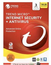 Trend Micro Internet Security Antivirus 2020 3-Device 6 months E-Delivery