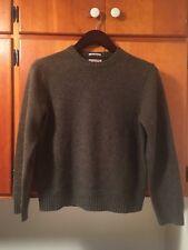 J.Crew Wallace and Barnes Green Shetland Wool Elbow Patch Sweater Men's Medium