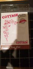 Cottage Cutz metal cutting die Victorian Rose Vine