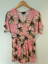 Atmosphere Playsuit Size 10 Floral