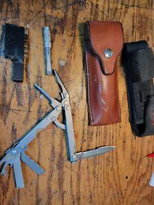 Kershaw multi tool with Leather sheath