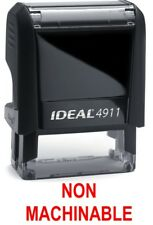 Ideal 50 FRAGILE Office Stock Self-Inking Rubber Stamp RED TRODAT 4911