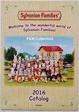 SYLVANIAN FAMILIES TOYS DOLLS 2016 CATALOG CATALOGUE BROCHURE LEAFLET NEW