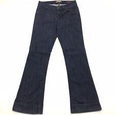 Makers of True Originals Dark Blue Flare Bell Bottom Denim Jean Pants Womens 29