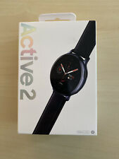 Samsung Galaxy Watch Active 2 SM-R835 40mm Stainless Steel Case with Leather...