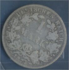 alemán Imperio Jägernr: 9 1874 e muy ya Plata 1874 1 marcos pequeños águ(7849050