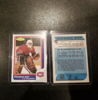 1986-87 PATRICK ROY ROOKIE REPRINT MONTREAL CANADIENS O-PEE-CHEE OPC NM/MT