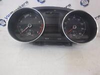 Volkswagen Polo 6C 2014-2017 Instrument Panel Clocks Cluster Dials 6C0920940G