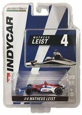 1:64 2018 Greenlight Matheus Leist #4 AJ Foyt Racing IndyCar Diecast
